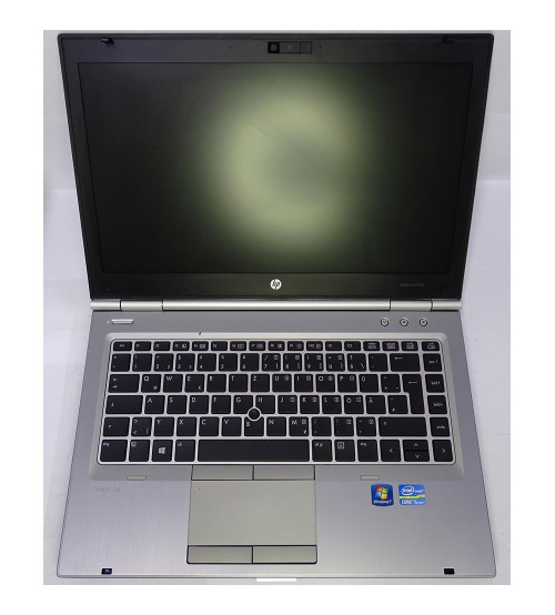 2.el  hp elitebook 8470P i5-3320 m2.60hrz 320hdd 4gb PİL BOZUK AS088