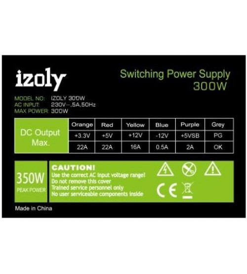 IZOLY 300W Power Supply