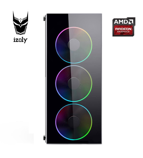İzoly Battle i5-4430 3.20GHz 8GB 120SSD 500HDD RX580 8GB PC