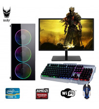 "İzoly Battle X i5-4430 3.20GHz 8GB 120SSD 500HDD RX580 8GB 22""PC"