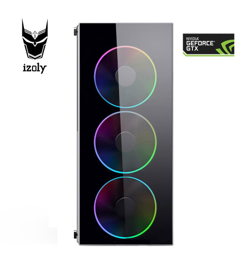 İzoly Knight i5-4430 3.20GHz 8GB 120SSD 500HDD GTX1050Ti 4GB PC