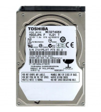 "Toshiba 320 GB 2,5 "" 5400 RPM Notebook Harddisk"