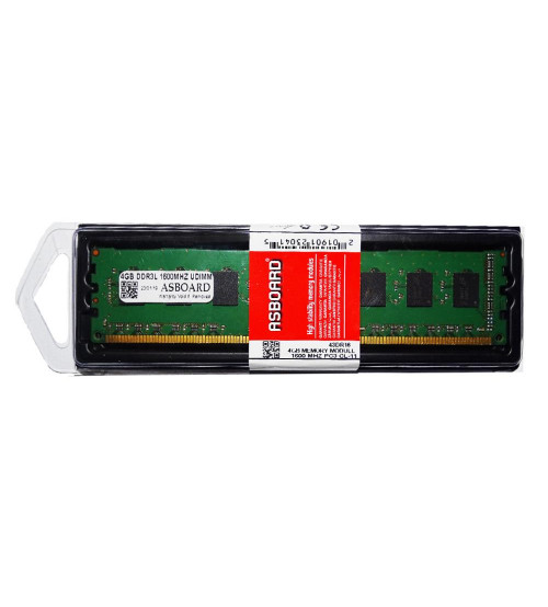 Asboard 4GB 1600MHz DDR3 240-Pin Ram Desktop